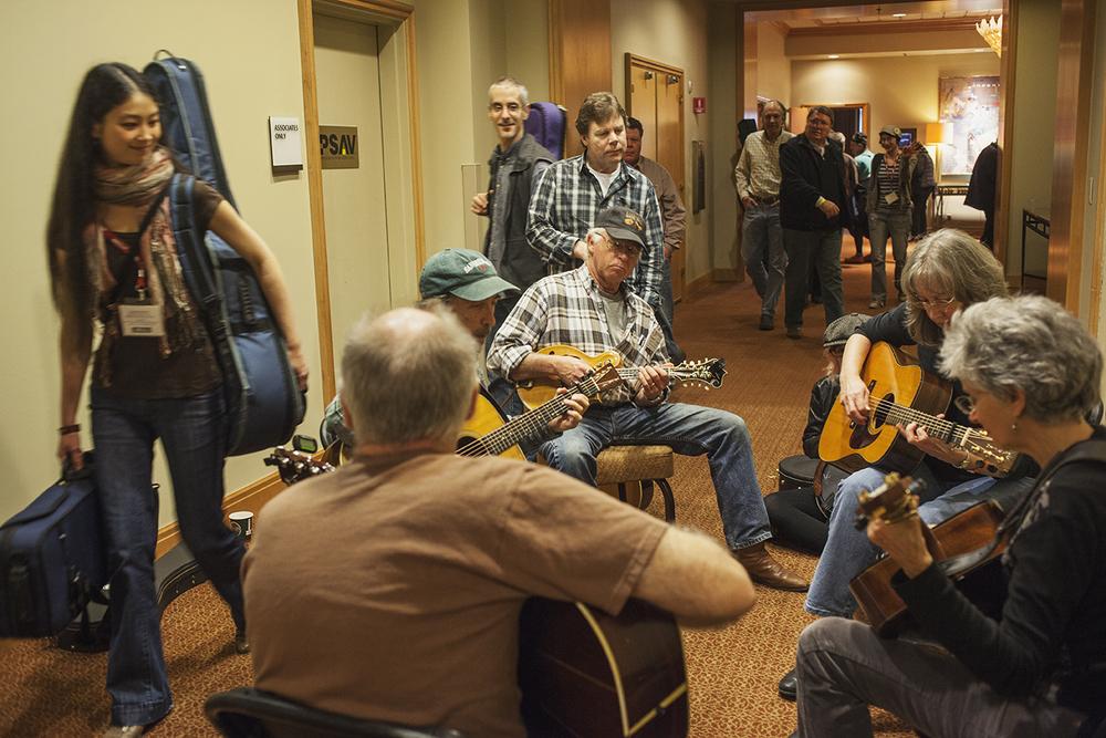 Hallway Jam at Wintergrass