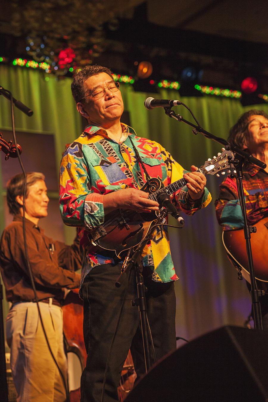 Akira Otsuka and Bluegrass 45. photo by Hermon joyner.