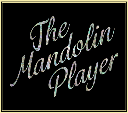 Pava Knesevic — The Mandolin Player