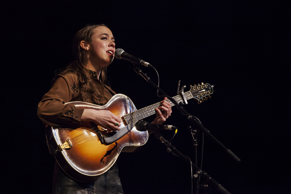 Sarah Jarosz at wintergrass 2015. photo by hermon joyner.