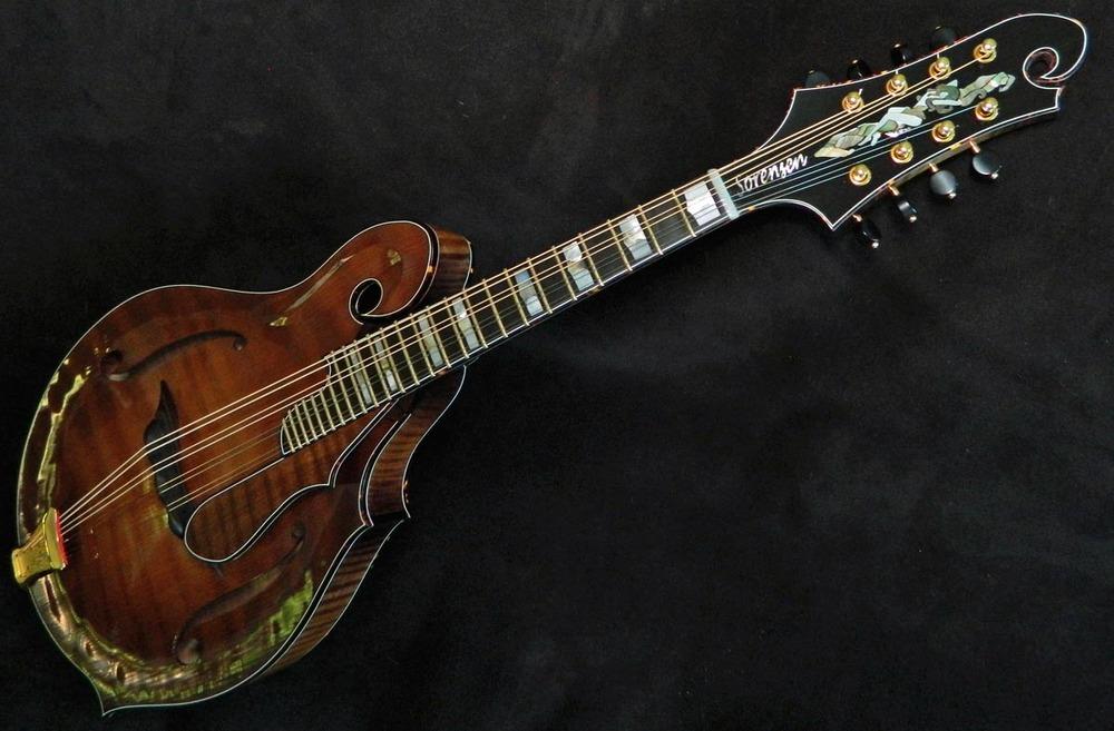 SXS mandolin, photo by steve sorensen.