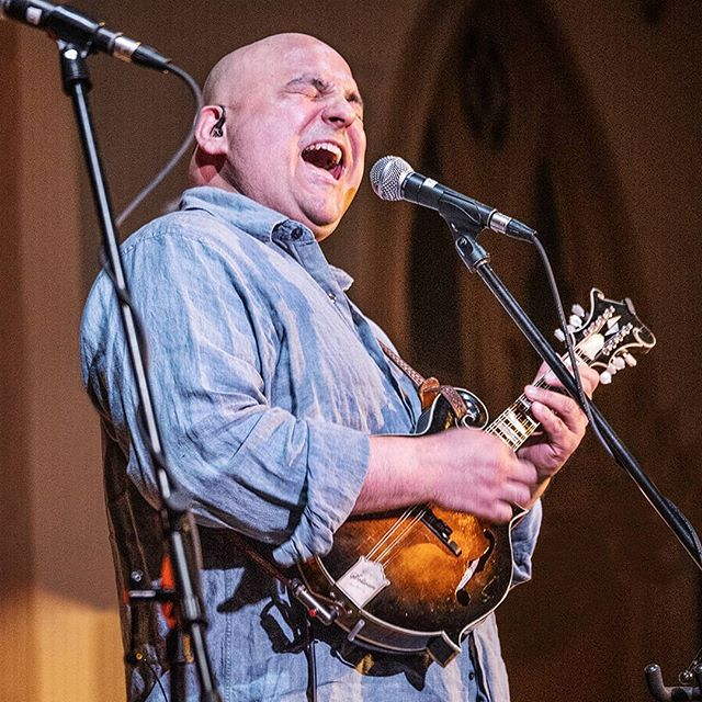 Frank Solivan knocks it out of the park at the Old Church Concert Hall in Portland, Oregon.