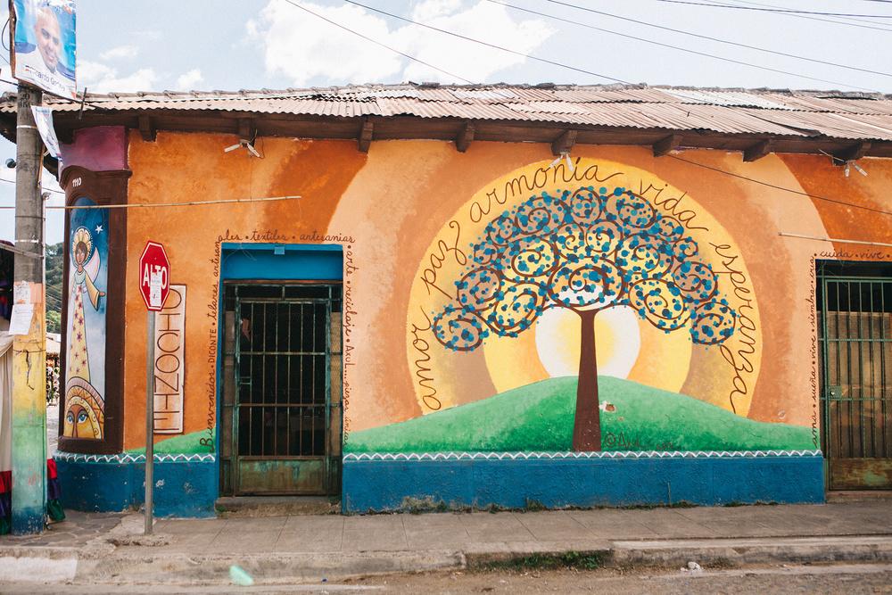 Mural art, El Salvador