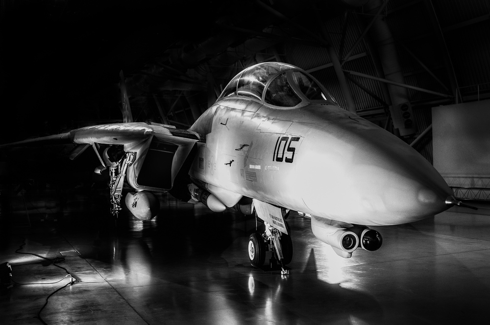 F14 Tomcat at the Steven F. Udvar-Hazy Center, Washington D.C., December 2014
