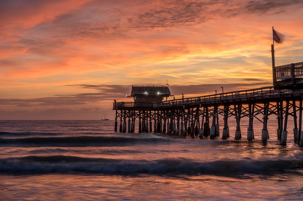 Cocoa Beach Pier, Florida, January 2015