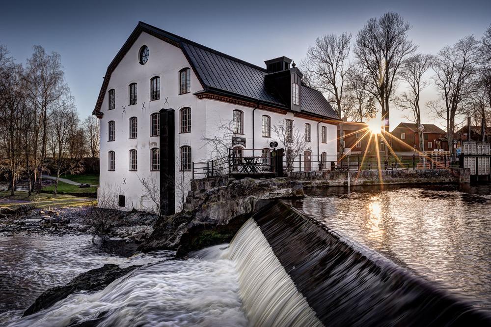 Ulva Kvarn, Uppsala, April 2015