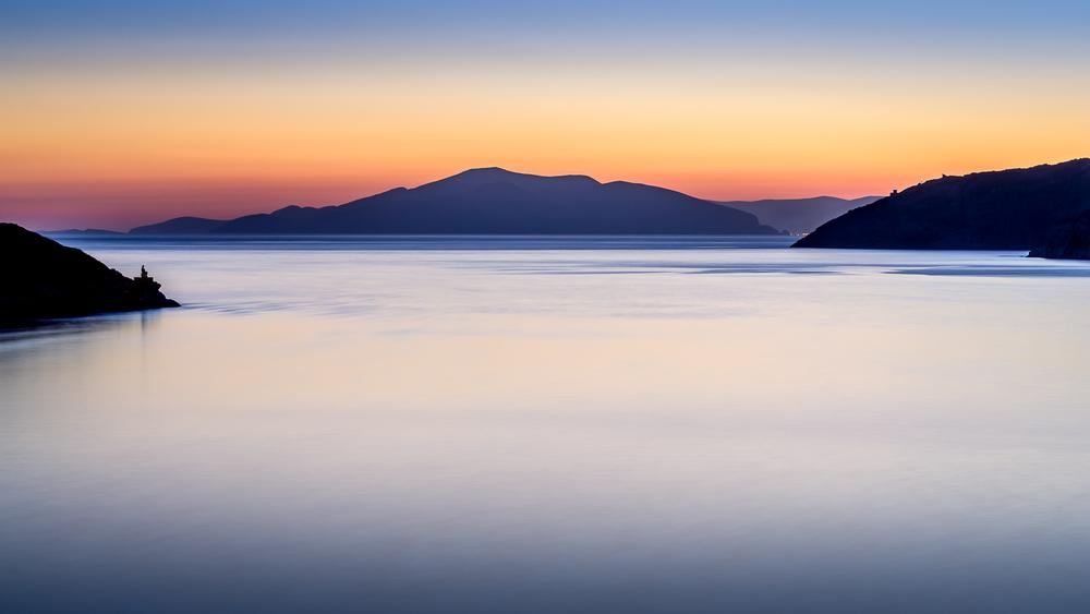 Katapola harbour, Amorgos, Greece, July 2015