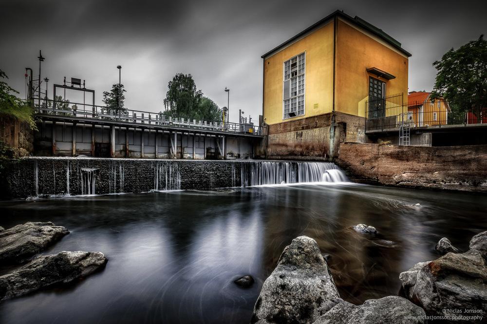 Kvarnfallet, Torshälla, Sweden, June 2016