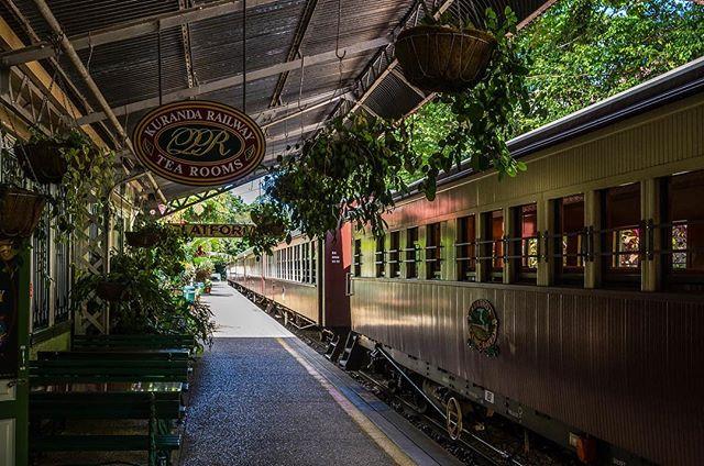 Kuranda Scenic Railway  #kuranda #kurandascenicrailway #queensland #australia
