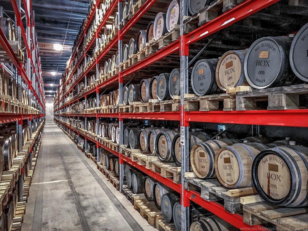 Box Destillery, Ångermanland, Sweden Augus 2017