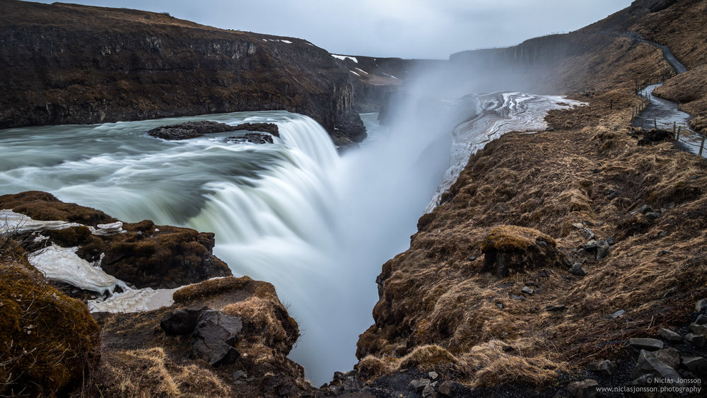 Gullfoss, Iceland, April 2018