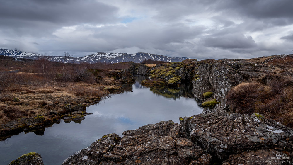 Þingvellir, Iceland, April 2018