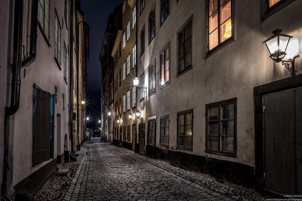 Gamla Stan (Old town), Stockholm, Sweden, December 2017