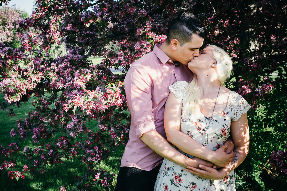 Engagement Session - Dominion Arboretum in Ottawa.