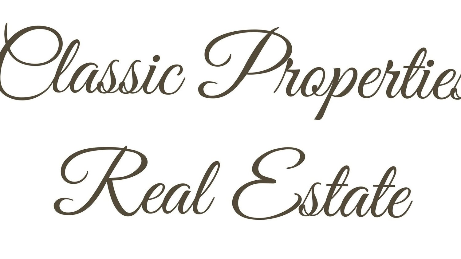 Classic Properties Real Estate
