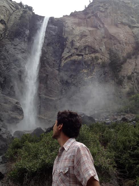 Bridalveil Falls--some diluvial pics to recall on down the post.