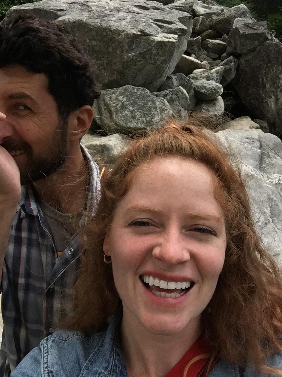 I love our selfie fails.
