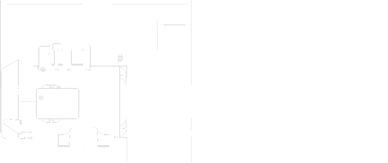 Note that dimensions may slightly vary depending on components selection. Biggest CMXP configuration illustrated above.