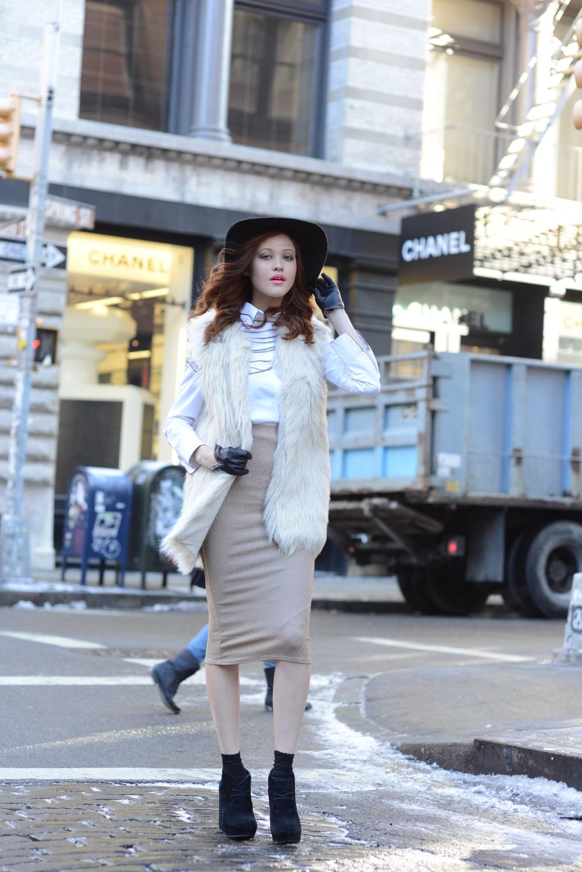 Model: Rachel Niu  Photographer: Damian Sandone  Makeup: Myia Ingoldsby  Hair: Mallory Pace