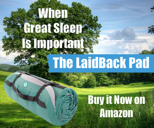 The Laid Back Sleeping Pad On Amazon