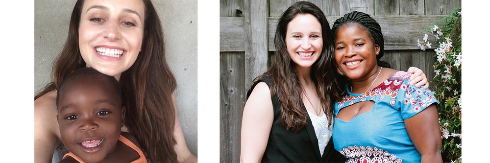 Elisabetta & Lindsey Brianna | Elisabetta & Percina in the US
