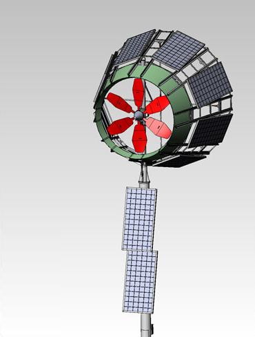 sky wolf wind turbine drawing