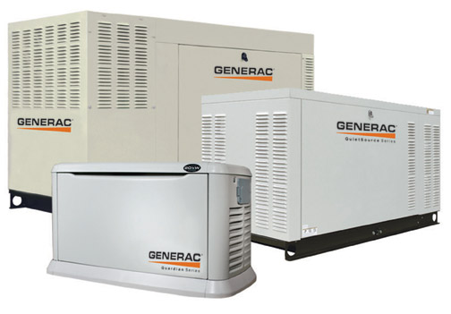We offer a full line of automatic standby generators, accessories, and automatic transfer switches.