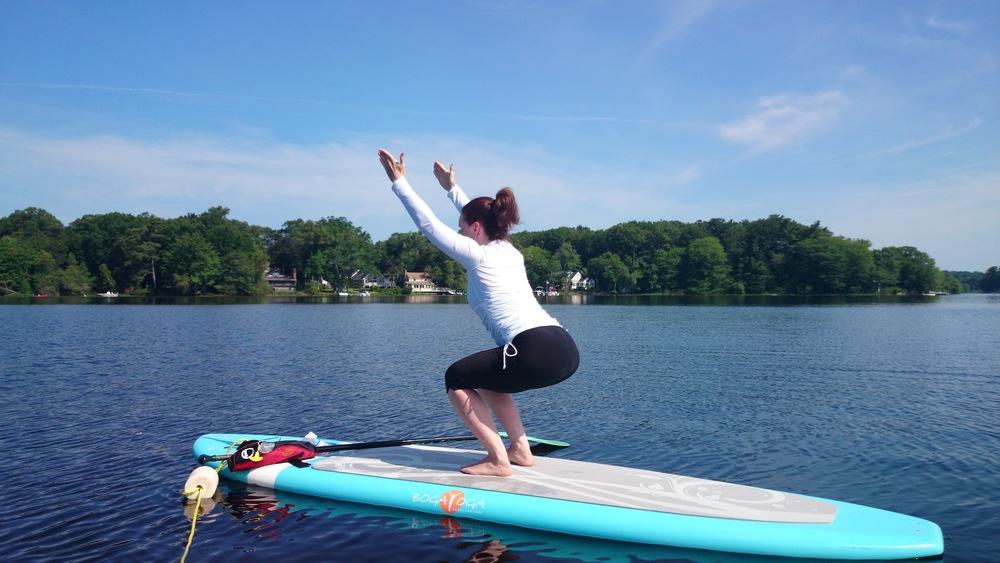 Boston Paddleboard Yoga