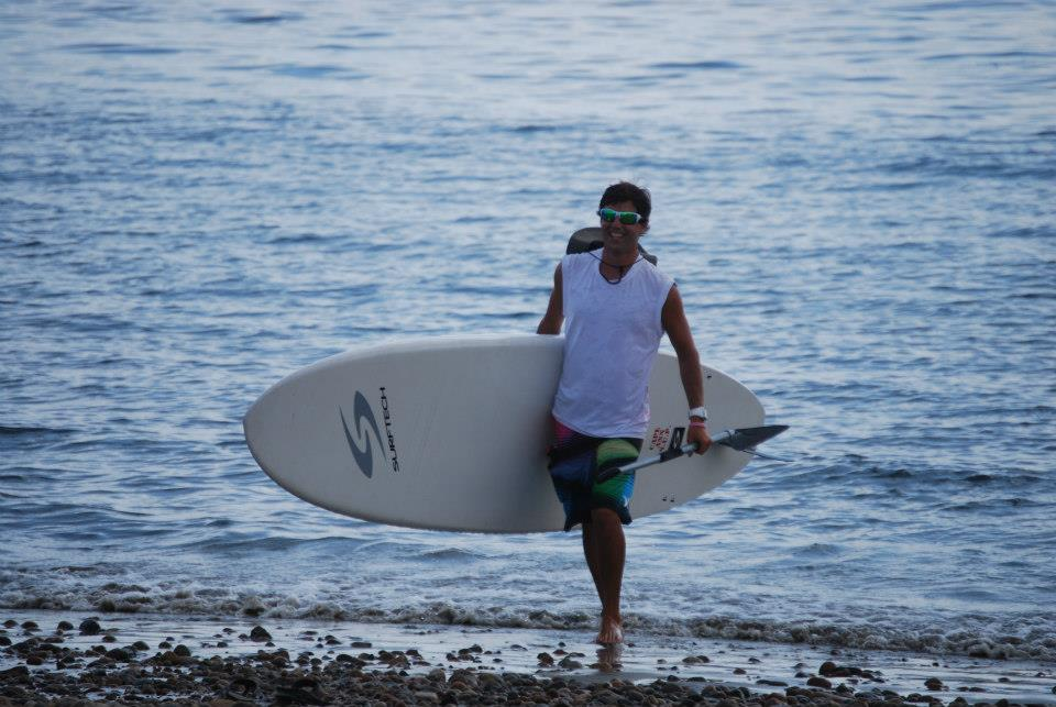 Paddleboard Instructor - Dominic Olivo