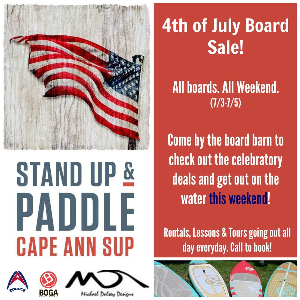 Paddleboard Sale North of Boston