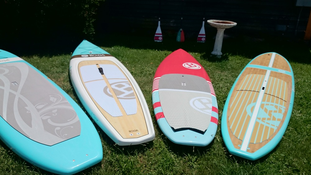 Boga Paddleboards on Boston's North Shore