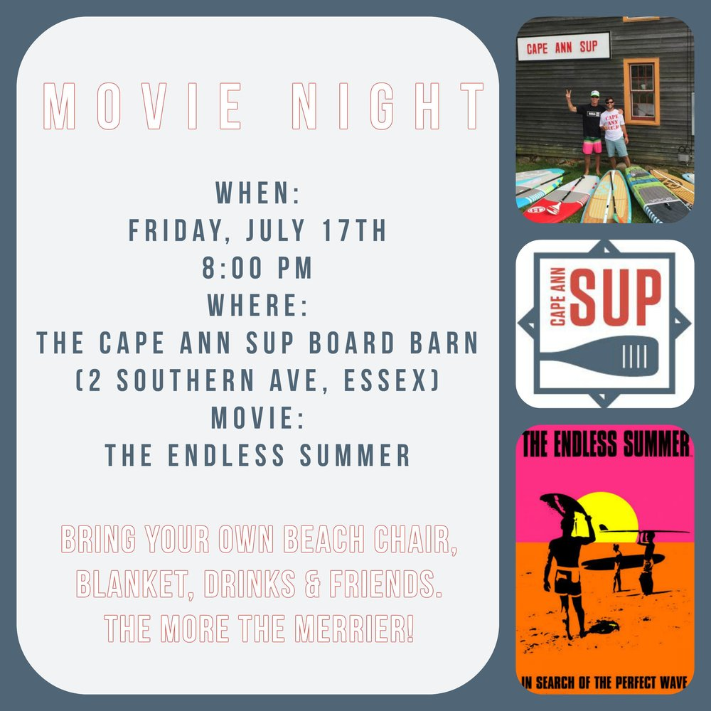 The Endless Summer Movie Night