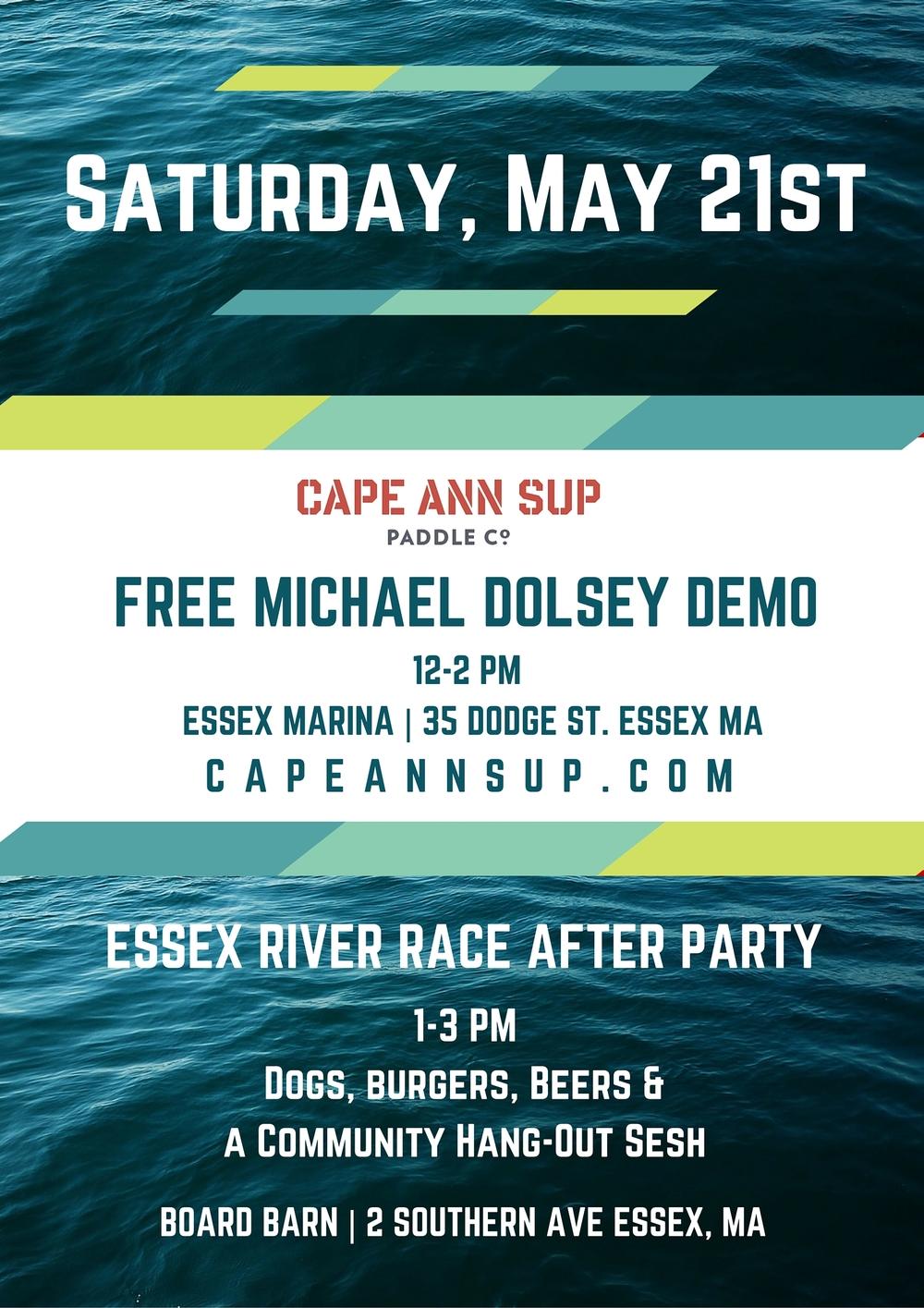 Free Paddleboarding on Cape Ann_Flier