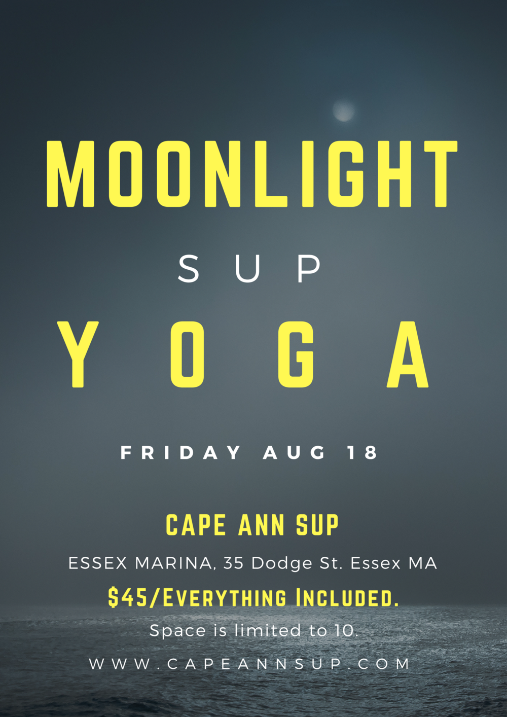Moonlight SUP Yoga