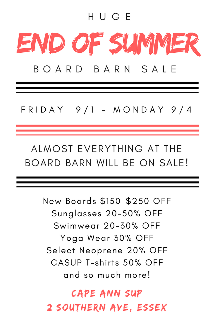 Board Barn Sale