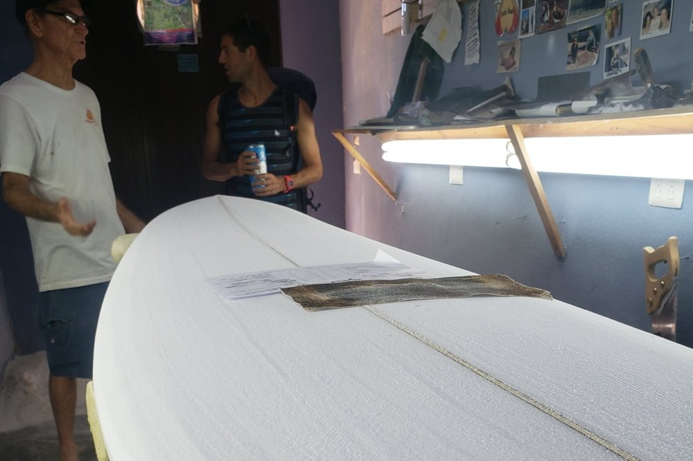 Shaping Booth