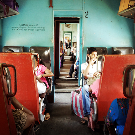 Train to Hikkaduwa