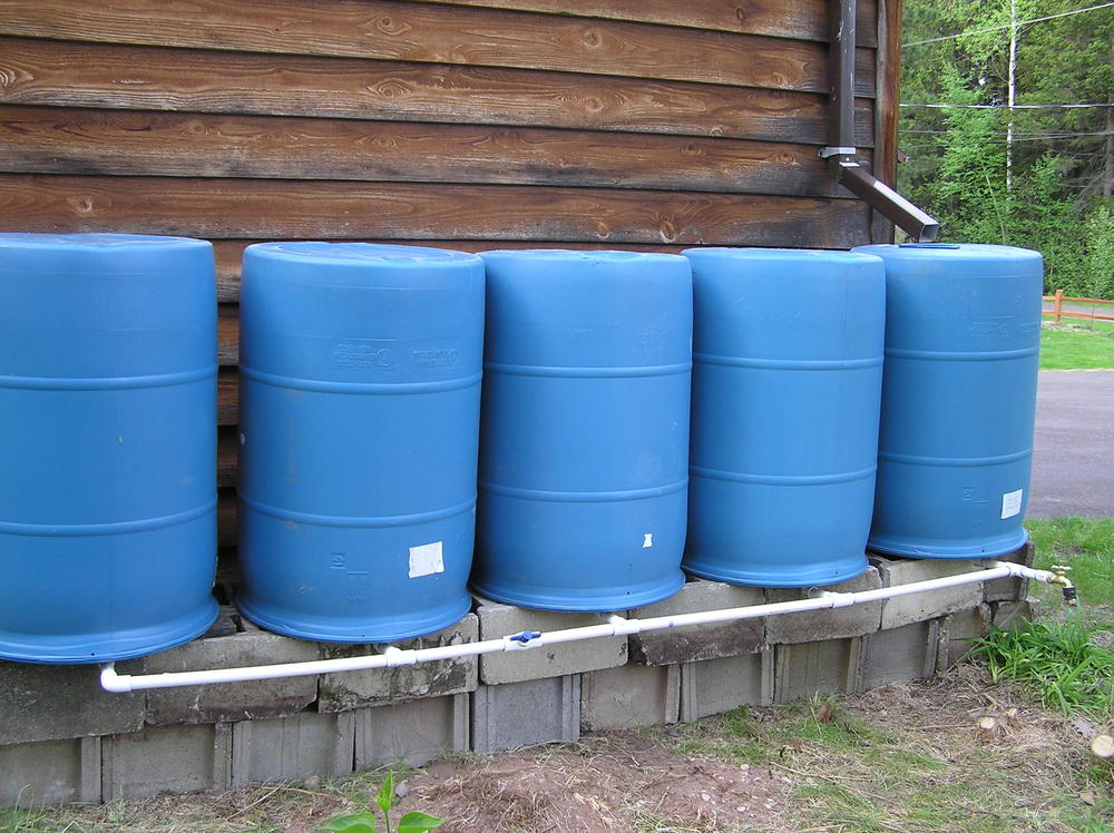 Beyond a reasonable drought how to solve california 39 s for How to make your own rain barrel system