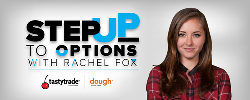 Step Up To Options  is an options trading video series with (actress and futures trader) Rachel Fox, and dough featured Ryan Grace. The two walk through 4 chapters of short videos covering the very beginnings to the basics of trading and understanding options.     WATCH NOW