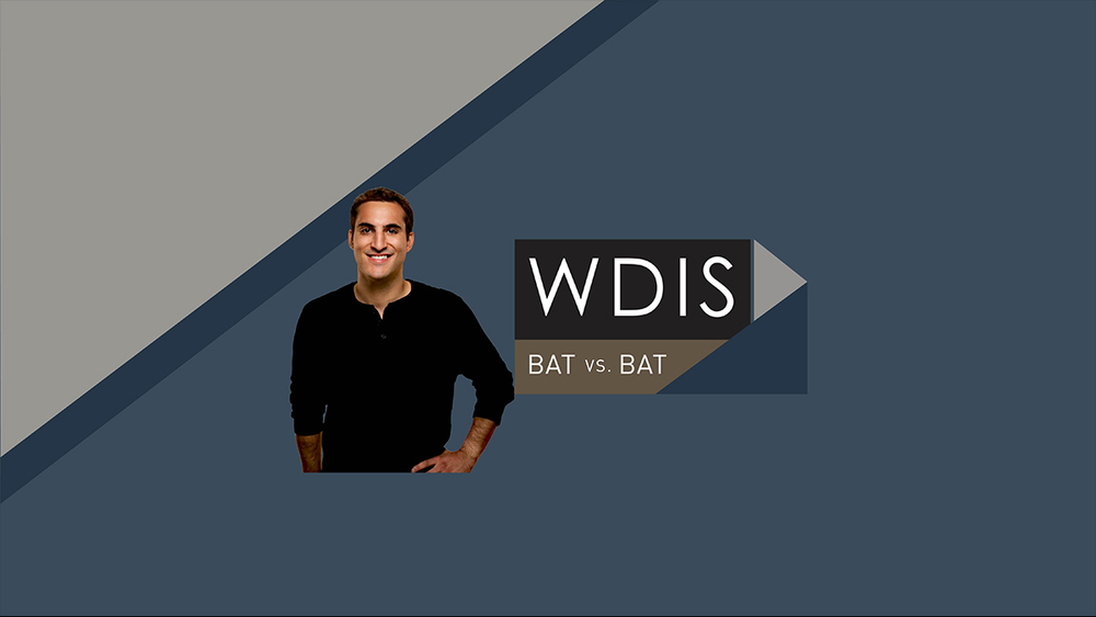 WDIS Bat vs. Bat   - Veteran options trader Tony Battista has already proven he can teach even the most novice of traders. But can he mold his son into a trader? Tony Battista teaches his son Nick to trade options from the very beginning.   WATCH NOW