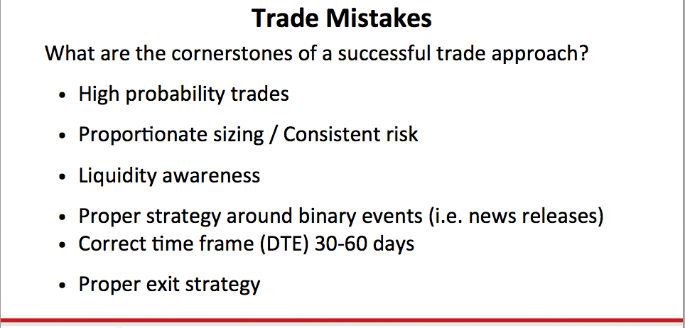 Top 10 option trading mistakes