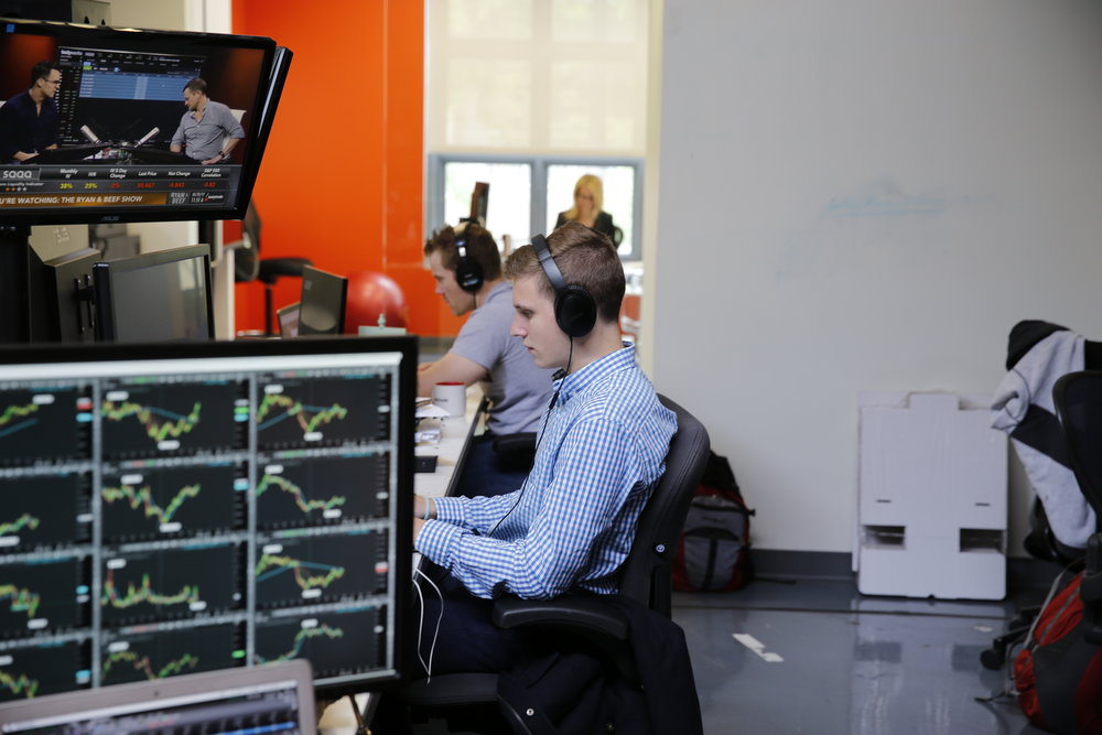 Viewers watched live as Christian ushered in the fourth generation of futures-trading Mulmats