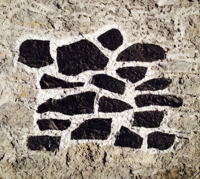 Street stone.