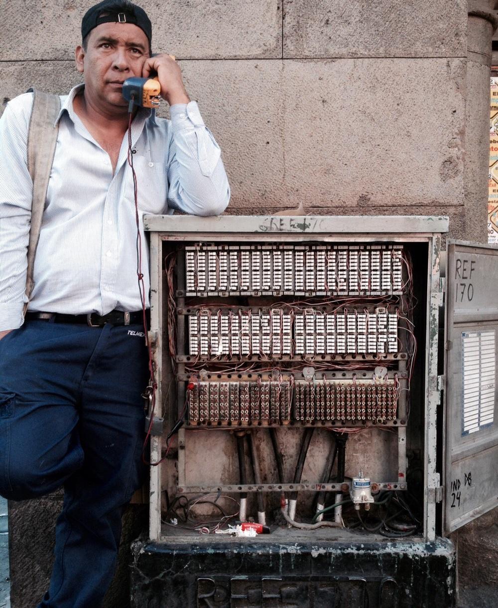 Hombre de Teléfono.