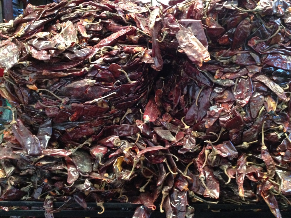 Chilis, Abastos Market.