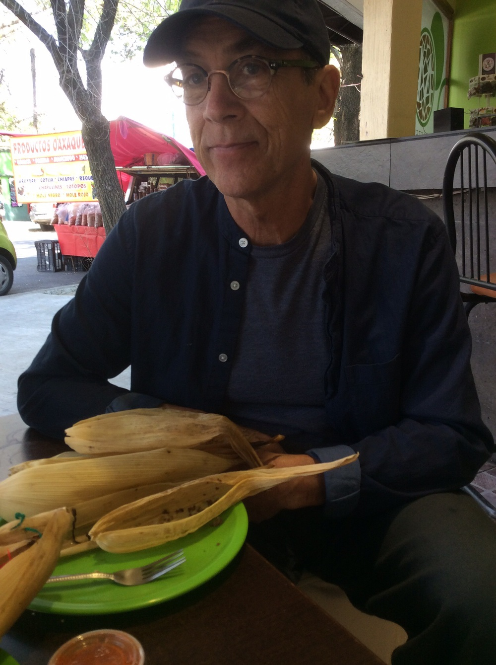Tomás and tamales.