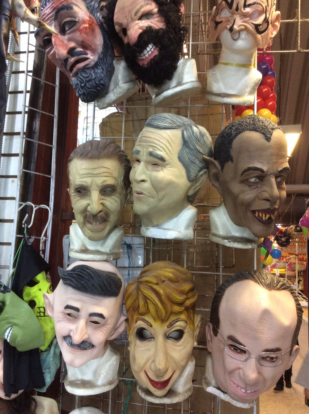 Scary political figures.
