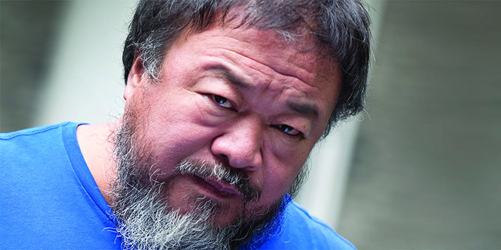 Photo of Ai Weiwei from project website.