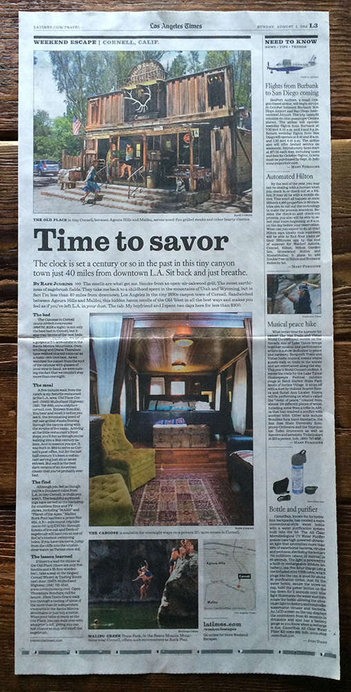 LOS ANGELES TIMES, AUG. 2014