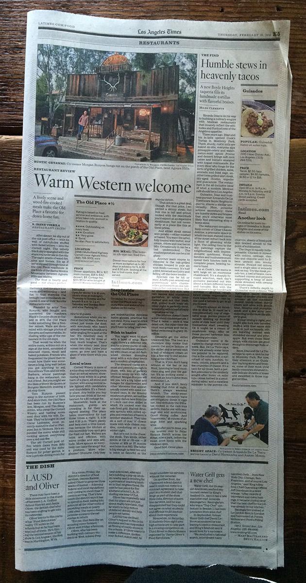 LA TIMES, AUG. 2014